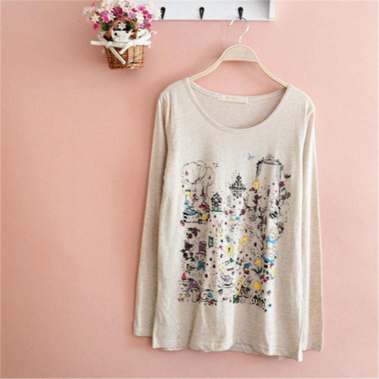 秋冬季长袖T恤打底衣小衫女款修身中长款保暖打底衫Y17 价格:12.90