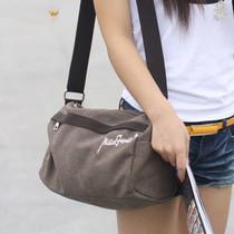 2013新品韩版新款帆布包斜跨女包旅行水桶小包百搭包单肩包女 价格:48.95