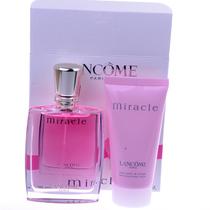 包邮五冠 兰蔻 Miracle经典奇迹香水套装 香水+身体乳 价格:395.00