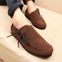 新品韩版皮鞋男鞋子男式休闲鞋英伦风板鞋低帮时尚潮流林弯弯潮鞋 价格:54.00