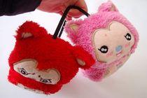 秋冬时尚 卡通加油猫毛绒 保暖护耳套耳罩 卡通动物耳罩 价格:9.99