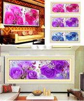 包邮精准印花花样年华十字绣新款客厅大幅玫瑰客厅系列丝线淘金币 价格:29.92