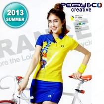 韩国进口peggy&co羽毛球服 女套装运动衣服夏季套装透气速干 耐磨 价格:776.00