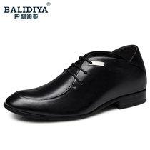 巴利迪亚增高鞋男式8厘米男士内增高男鞋皮鞋男真皮正品增高鞋8cm 价格:259.00