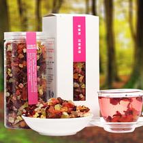 味客吉 花果茶 巴黎香榭水果茶 果粒茶 果味茶 水蜜桃味 200g 价格:19.90
