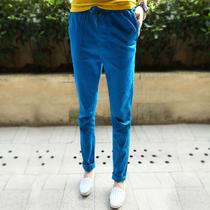 安秀时尚|秋装2013新款长裤子 女 显瘦 韩版潮流修身小脚裤PQ006 价格:99.00