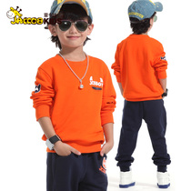 秋款童装2013新款男童套装3-13-15岁胖男孩大码儿童运动服两件套 价格:99.00