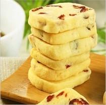 进口原料 蔓越莓曲奇饼干 西饼 饼干170g巴拿米零食品21省包邮 价格:18.00