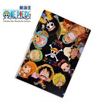 文件夹24 ONE PIECE航海王A4 9成员LOGO资料夹日本动漫授权正版 价格:7.00
