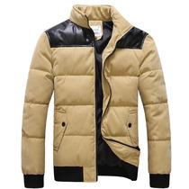 2013秋冬季新款男生修身外套男士立领棉衣男孩韩版潮流棉服反季促 价格:78.90