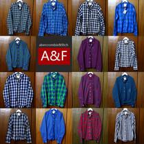 美国abercrombie fitch正品代购 af男士长袖格子衬衫 经典现货 价格:322.20