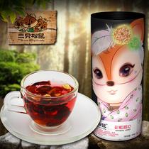 【三只松鼠_彩虹甜心】水果粒果粒茶巴黎香榭花茶105g BB2 价格:9.90