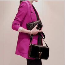 施华鹿 2013新款韩版修身小西服女 秋装中长款小西装特价外套潮 价格:199.00