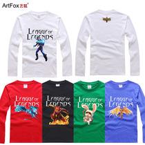 【艺狐】英雄联盟LOL 冰凤 EZ 猴子 提莫 审判 长袖圆领T恤衣服 价格:48.00