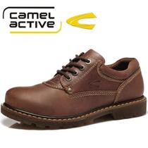 正品骆驼动感camel active皮鞋工装鞋大头鞋男款休闲鞋 男鞋B6508 价格:268.00