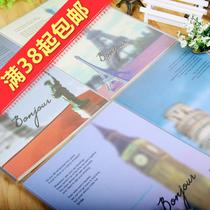 包邮特价可爱韩国文具16k视觉系列胶套本 记事本 日记本 笔记本 价格:11.60