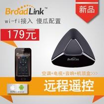 现货wifi智能遥控手机远程遥控空调电器学习红外发射器BroadLink 价格:179.00