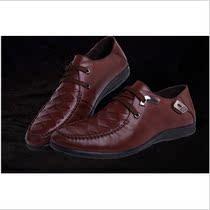 2013春款正品法国啄木鸟男鞋男士皮鞋日常休闲单鞋真皮商务休闲鞋 价格:256.80