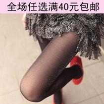 韩版闪闪银葱亮丝连裤袜 珠光袜 超薄透明丝袜 夏季 女士 防勾丝 价格:6.00