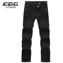 【EBG男装】2013新款男牛仔裤男长裤高档商务休闲牛仔裤男1830103 价格:189.00