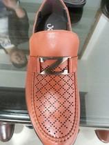 吉尔达男鞋 正品2013新款牛皮商务休闲透气凉鞋873BL-3286571 价格:257.00