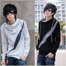 真维斯非主流型版韩版男装秋装潮流套头连帽男士卫衣薄外套上衣服 价格:69.00