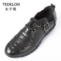 太子龙男鞋专柜正品2013新款牛皮低帮鞋 单鞋 真皮皮鞋  YECLS109 价格:418.80