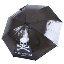 百盛洋伞EVA-2创意骷髅头长柄伞彩色透明伞透明雨伞黑色雨伞 价格:32.00