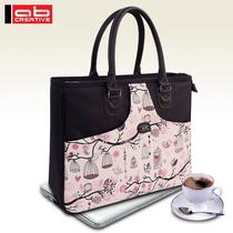 手提单肩笔记本包女士电脑包14寸 时尚防震笔记本电脑包女士韩版 价格:131.60