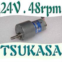 抢购 大扭矩 直流减速电机12v 24v 金属齿轮 进口发电机 模型马达 价格:22.00
