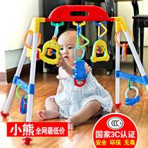 健身架婴儿玩具儿童早教音乐 站立健身器保宝窝安全玩具0-1岁宝宝 价格:38.84