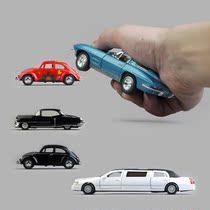 儿童玩具汽车模型合金车模回力加长林肯大众甲壳虫凯迪拉克老爷车 价格:22.50