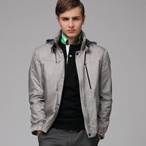 罗蒙/Romon 正品 男士休闲夹克衫 韩版修身 男装 1J28111 价格:259.00