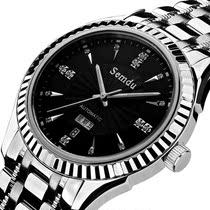 瑞士品牌表水钻表精钢复古表 手表 男士 自动机械表 全自动 男表 价格:688.00
