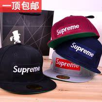 bboy滑板棒球帽平沿嘻哈帽子 男女街舞帽子supreme原宿hiphop韩国 价格:20.00