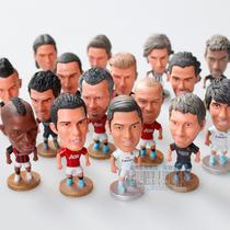 足球梅西卡卡C罗纳尔多杰拉德巴乔鲁尼伊布罗本小贝哈维人偶 公仔 价格:6.50