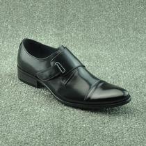 丽芙泰勒魔术贴素面正装真皮头层打蜡牛皮尖头皮鞋时装男鞋701-7 价格:299.00
