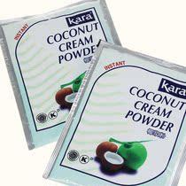 烘培原料*印尼进口速溶天然的椰浆粉kara 佳乐椰浆粉50克原装 价格:7.50