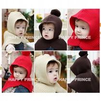 连帽披风儿童冬天帽子小孩秋冬男女1-2岁宝宝0-1一3-6个月百天满 价格:23.99