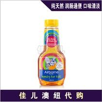 新西兰原装进口Airborne纯天然宝宝儿童蜂蜜500g清热润燥 治便秘 价格:70.00