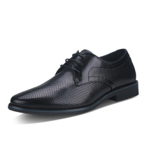 巴利世家 新款真皮凉鞋 商务休闲镂空透气洞洞系带 男皮鞋 黑色 Z 价格:399.00
