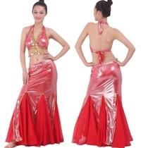 冲冠肚皮舞服装 特价印度舞演出服 肚皮舞套装裙 新款练习套装S25 价格:61.50