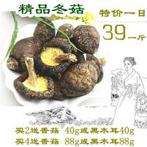 【天天特价】神农架房县特产干货 百分百椴木厚香菇 冬菇500g包邮 价格:39.00