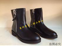 专柜正品代购 Tata/他她2013秋冬新款女靴 真皮马丁靴女短靴2YW44 价格:340.00