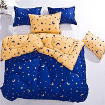 【VIP专享活动】床上用品 被子 加厚波点双拼星空被 秋冬季保暖被 价格:98.00