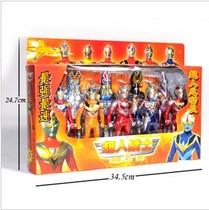 包邮特价 动漫咸蛋超人奥特曼怪兽组合套装彩盒 儿童玩具男孩 价格:30.00