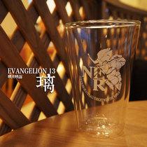 【晴天映画】新世纪福音战士/EVA 13号机 双层玻璃杯 现货 价格:30.00