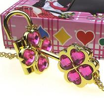 正品守护甜心cos同心锁项链亚梦蛋钥匙锁盒装玩具女生礼物七色 价格:25.00
