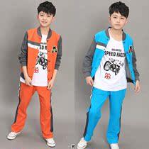 12岁秋装2013男童装10男孩8 9 11 13 14岁男大童儿童运动服装套装 价格:109.00