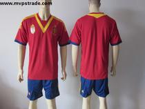 13-14 Spain home soccer jersey football jersey sports shirt 价格:95.00